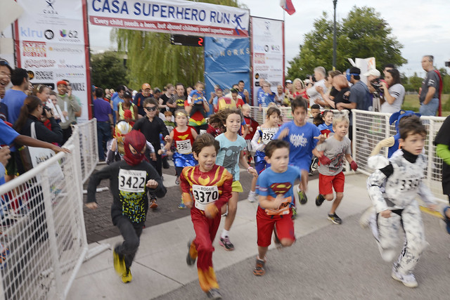 2013 CASA Superhero Run photo by Cisco Gamez