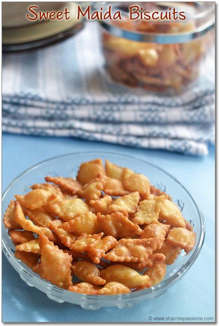 Maida Biscuits Recipe