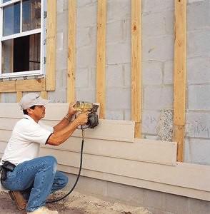 Revestimiento de paredes con fibrocemento ventajas for Planchas de madera para paredes