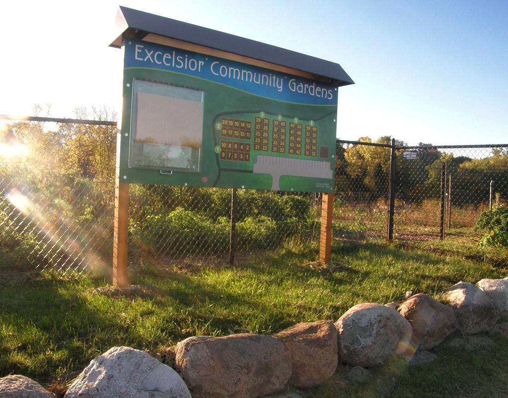 Excelsior Community garden