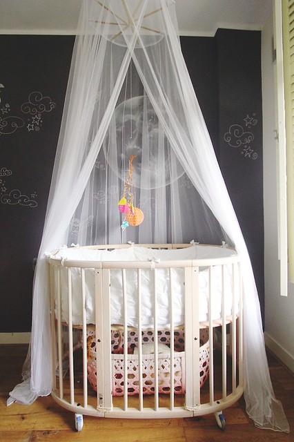 Stokke Sleepi Crib With Mosquito Net Flickr Photo Sharing