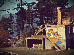 M.chat en la colina de Trebevic