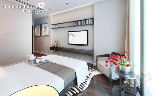 Thiết kế nội thất chung cư Mandarin garden 07   B2