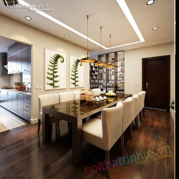 Nội thất chung cư Madarin Garden 07 –B2