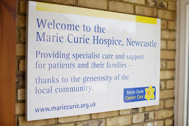 Virtual tour of Newcastle Hospice