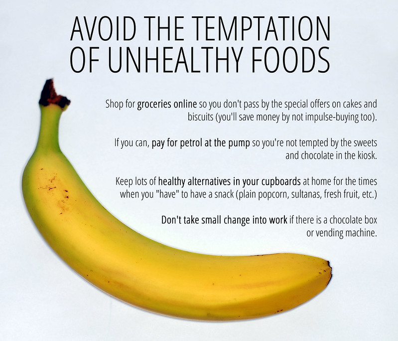 Avoid The Temptation Of Unhealthy Foods