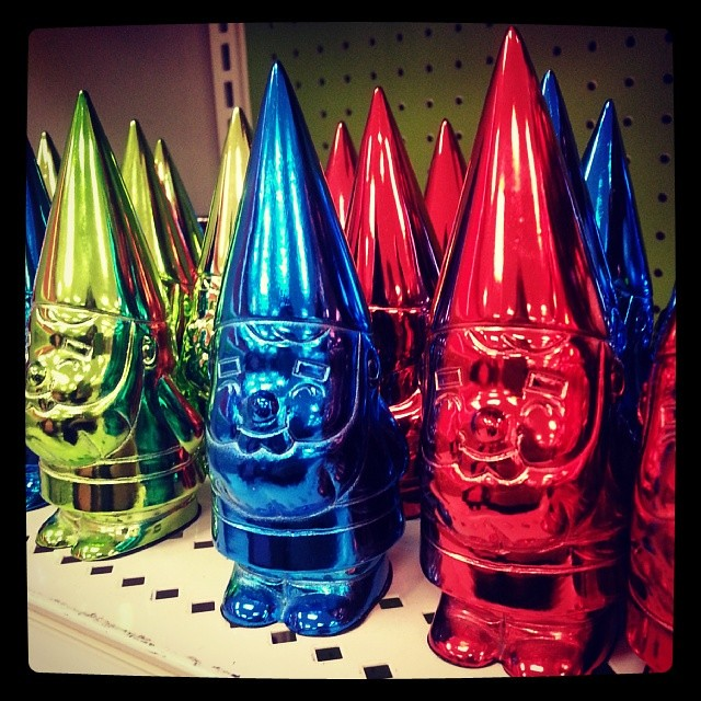 Chrome gnomes.