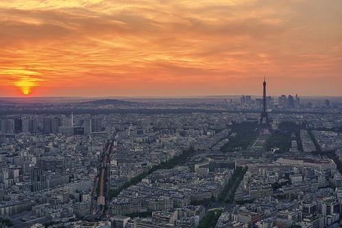 Paris, Tour & Sun