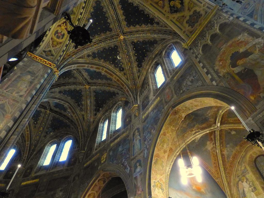 Inside Sant'Antonio, Padova