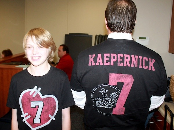 Camp Taylor Colin Kaepernick T-Shirts By Sportiqe