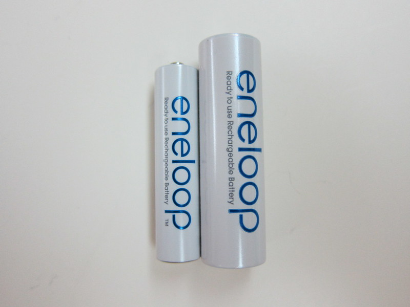 Eneloop Rechargeable AAA Battery Pack - AAA vs AA Rechargeable Battery