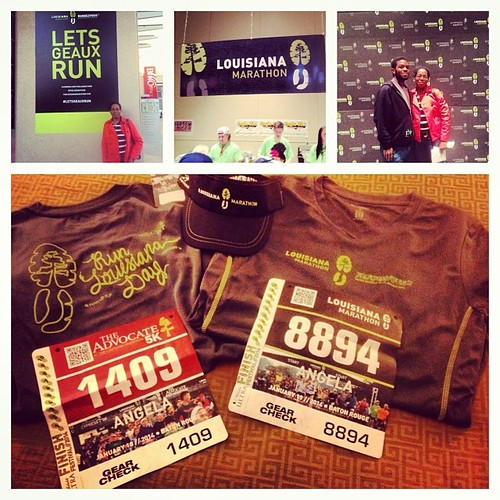It's FINALLY happening! It's @thel amarathon weekend. 5k tomorrow and #marathon on Sunday! I'm ready!