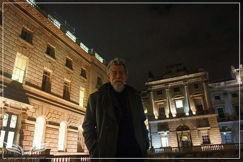 The Establishing Shot: JOHN HURT AT THE BEHIND THE MASK: ANDY GOTTS MBE PORTRAITS FOR BAFTA EXHIBITION AT SOMERSET HOUSE by Craig Grobler