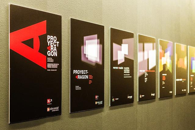 Exposición ProyectAragón - Carteles Óscar Baiges