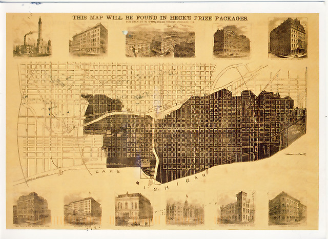21 Cool Chicago Fire 1871 Map Bnhspine Com