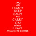 keep calm (SORRY) by gemma correll