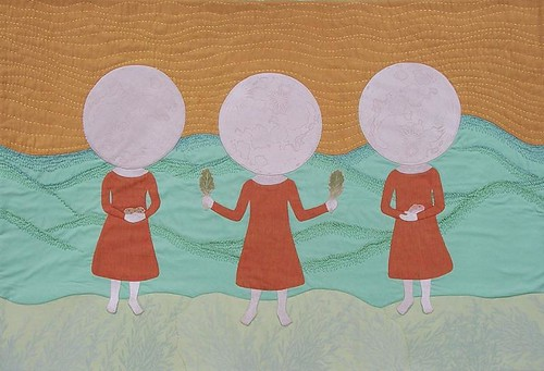 Moon Girls - works by Aijung Kim