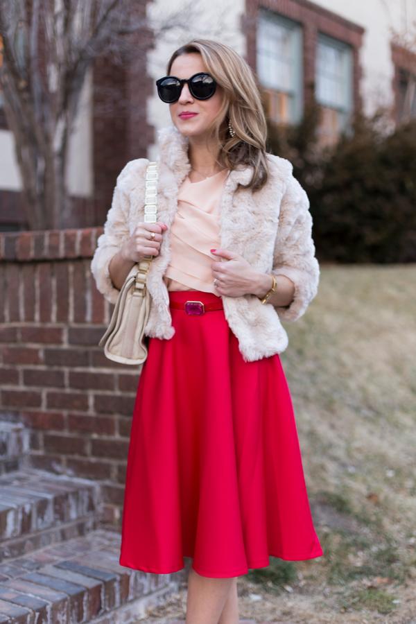 ASOS Midi Skirt Outfit