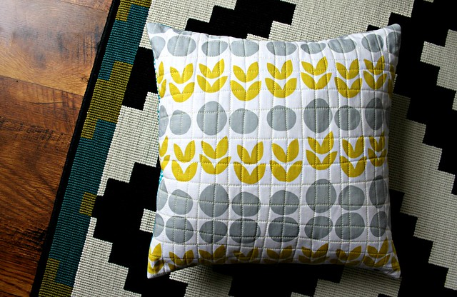 A Quilted Pillow for Grace!