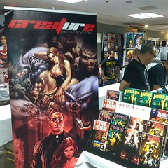 Up and selling at @Ultracon ! #comics #ultracon #convention