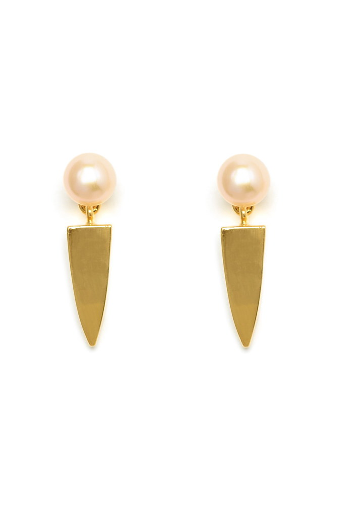 Pearl Dagger Earrings