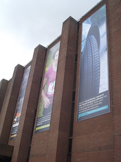 Aston University Library - banners