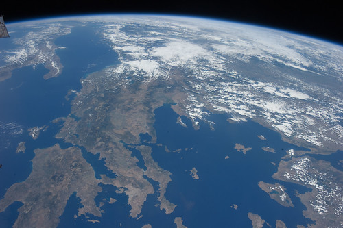 Beautiful Greece (Archive: NASA, International Space Station, 07/22/11)
