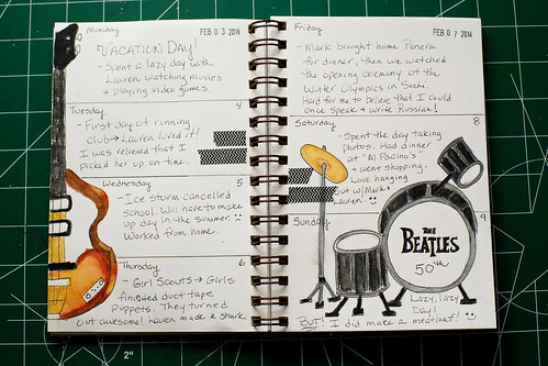 2014 Sketch Journal - Week 6