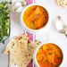 creamy carrot & mango soup by Gelmina / TartAmour