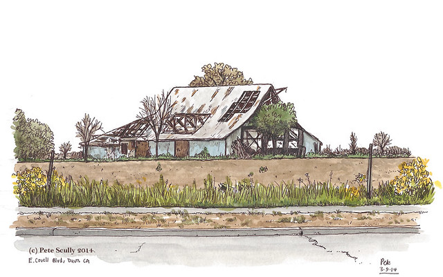 covell blvd barn, davis CA