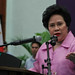 Sen. Miriam Defensor-Santiago during her speech. by IRRI Images