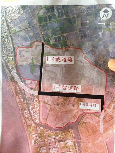 1-4道路切割勢必影響黑琵棲息地。