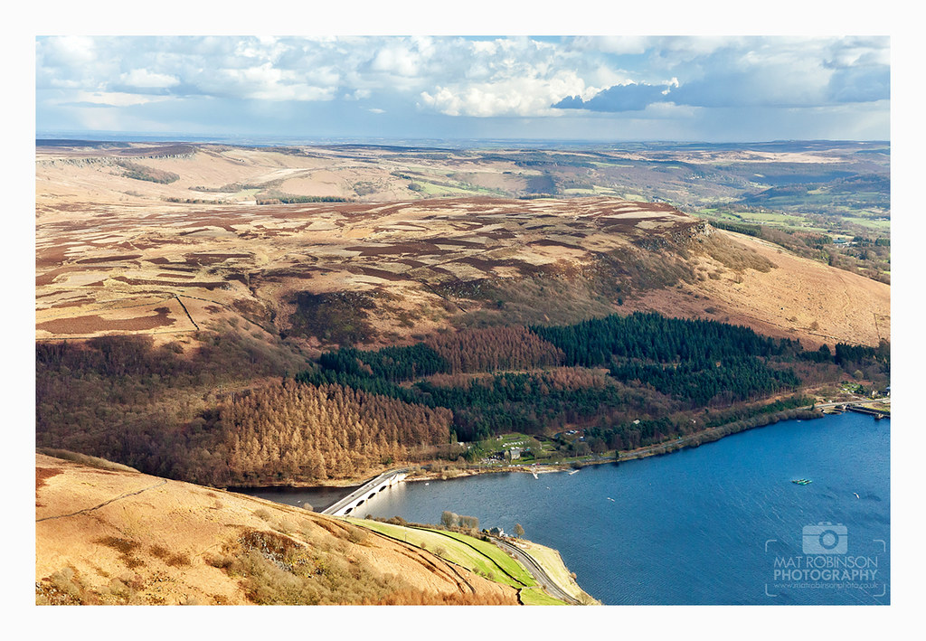 Landscape photo of Ladybower.