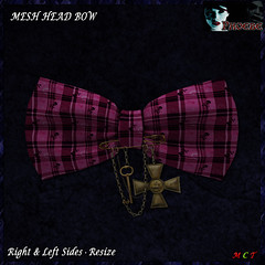 [NEW ON SALE!] *P* Pam Head Bow ~Pink2~