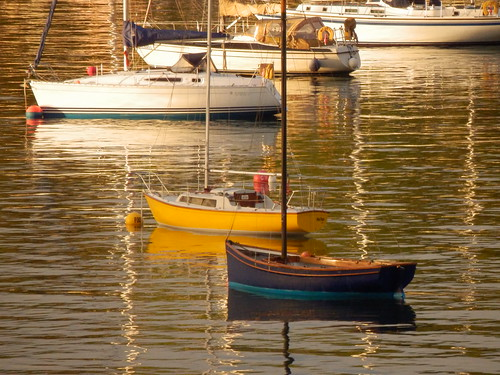 Evening Light, River Fal, Falmouth, Cornwall