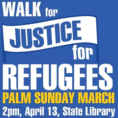 Walk for Justice for Refugees - Palm Sunday, 2014