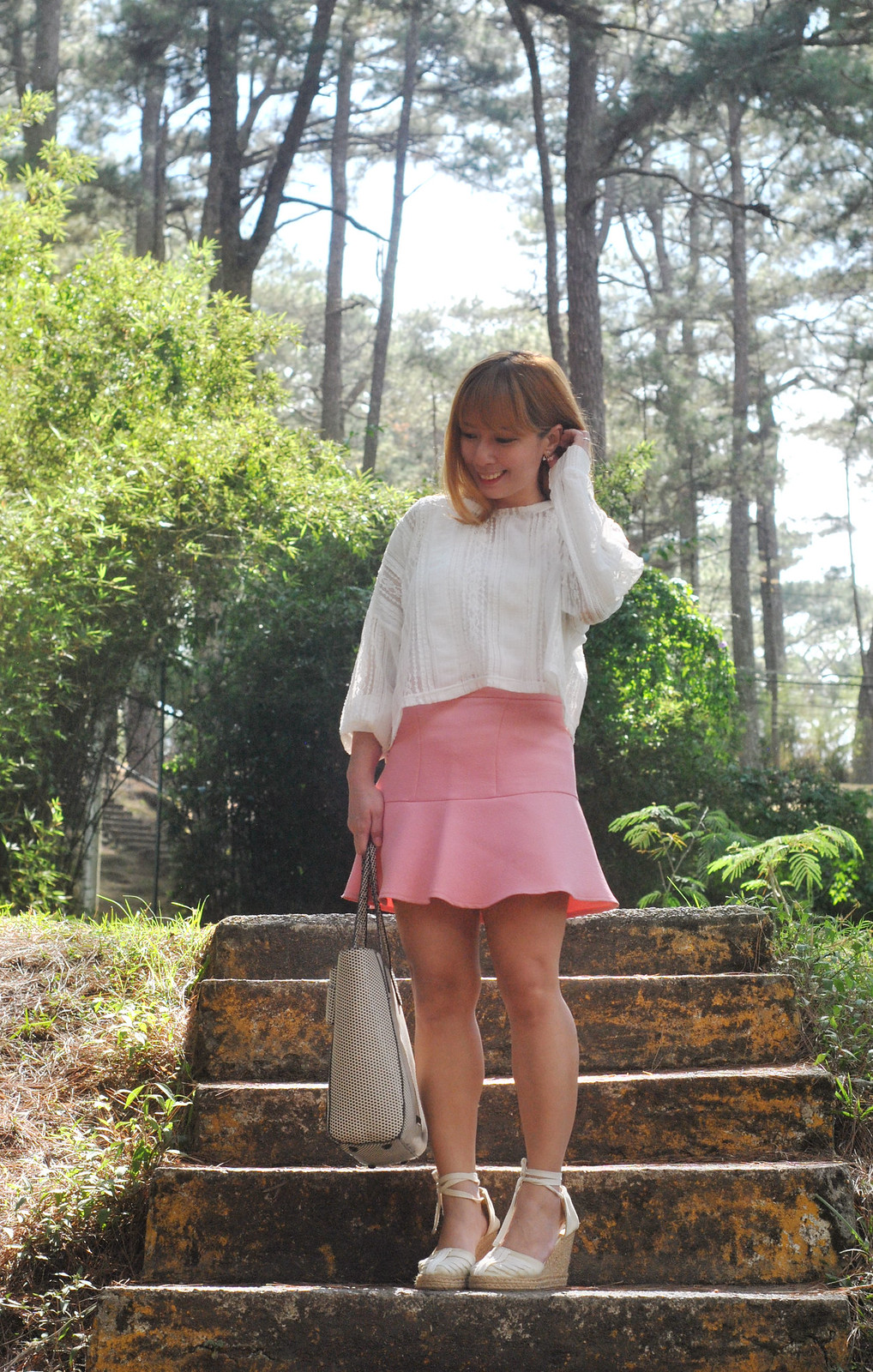cherryl ramos zara skirt baguio stylenanda