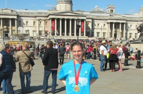 Londýnský maraton umí nadchnout pro dobrou věc