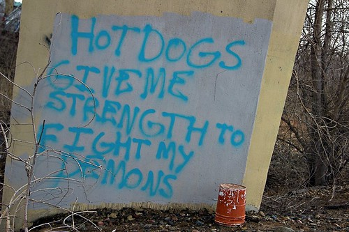 For me, hot dogs ARE the demons