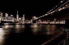 NYC Skyline at ngiht