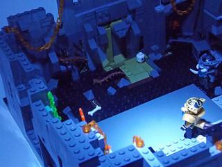 LEGO Chima MOC - Scorpion Palace Ruins 5