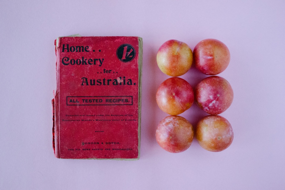 Steamed Pudding with Honey and Thyme Plums