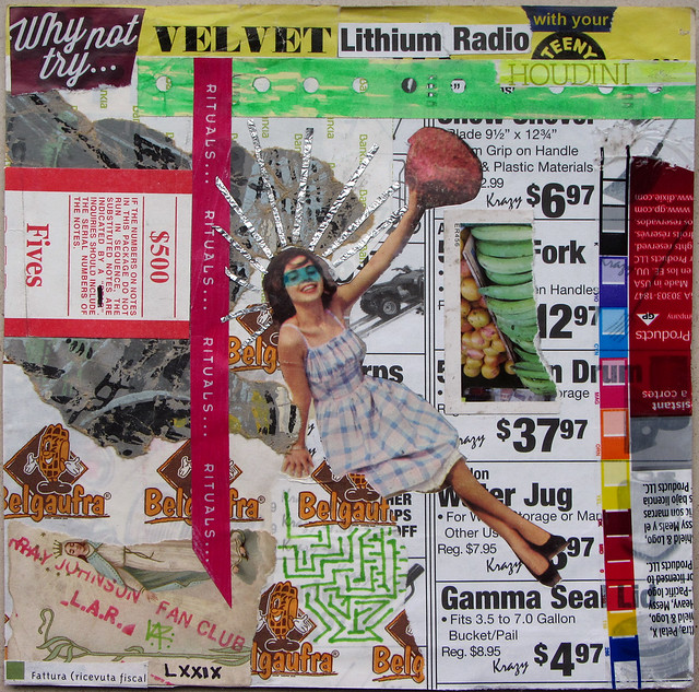 """RJFC Relationship LXXIX ~ """"Why not try VELVET Lithium Radio with your TEENY HOUDINI"""""""