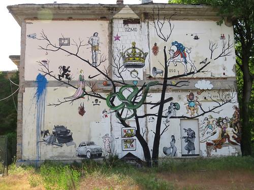 Mural by Ozmo