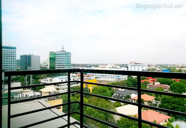 View of Alabang from B Hotel