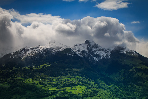 panorama sun mountains alps nature rain clouds switzerland day patrick liechtenstein semmler eos70d