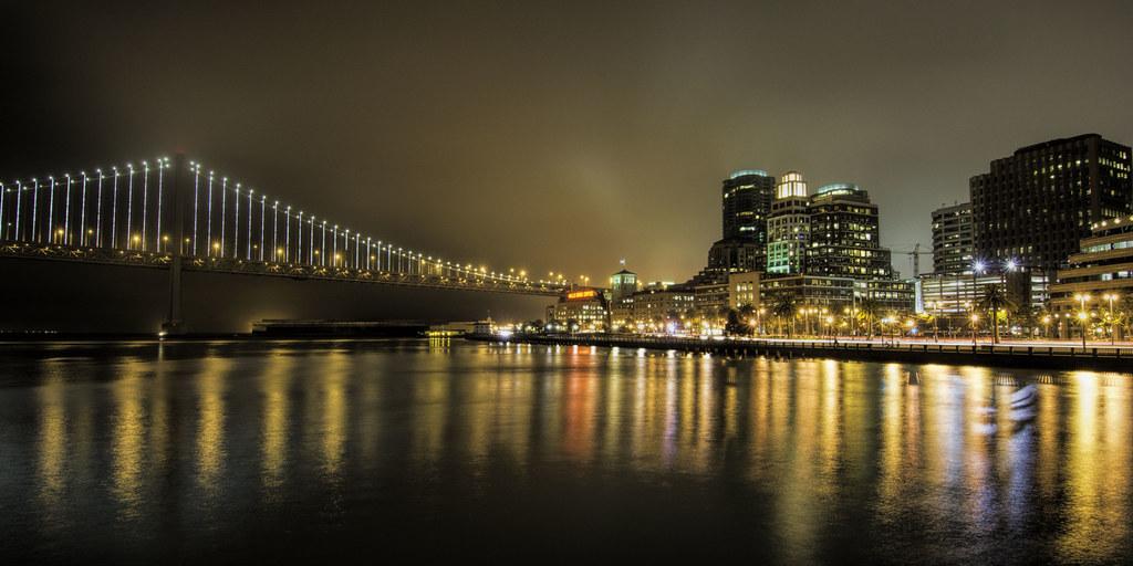 Bay Bridge into San Francisco