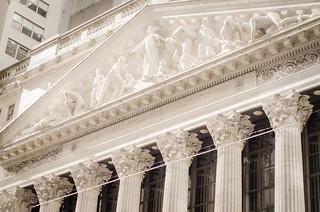 Image of New York Stock Exchange. new york nyc newyork stock exchange nyse
