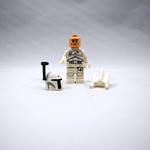 White Boba Fett Minifigure