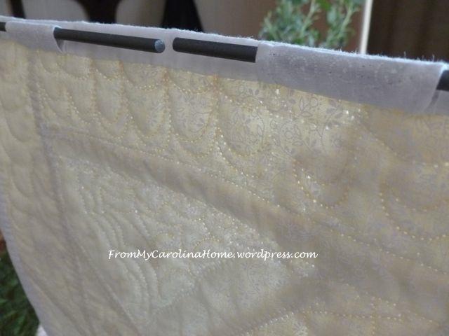 White finish close up hangers